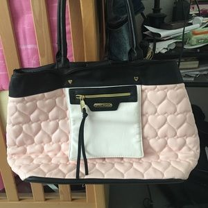 Betsey Johnson purse or Can be use as a diaper bag